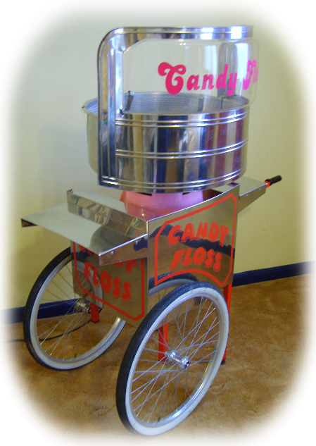 cotton candy floss machine hire