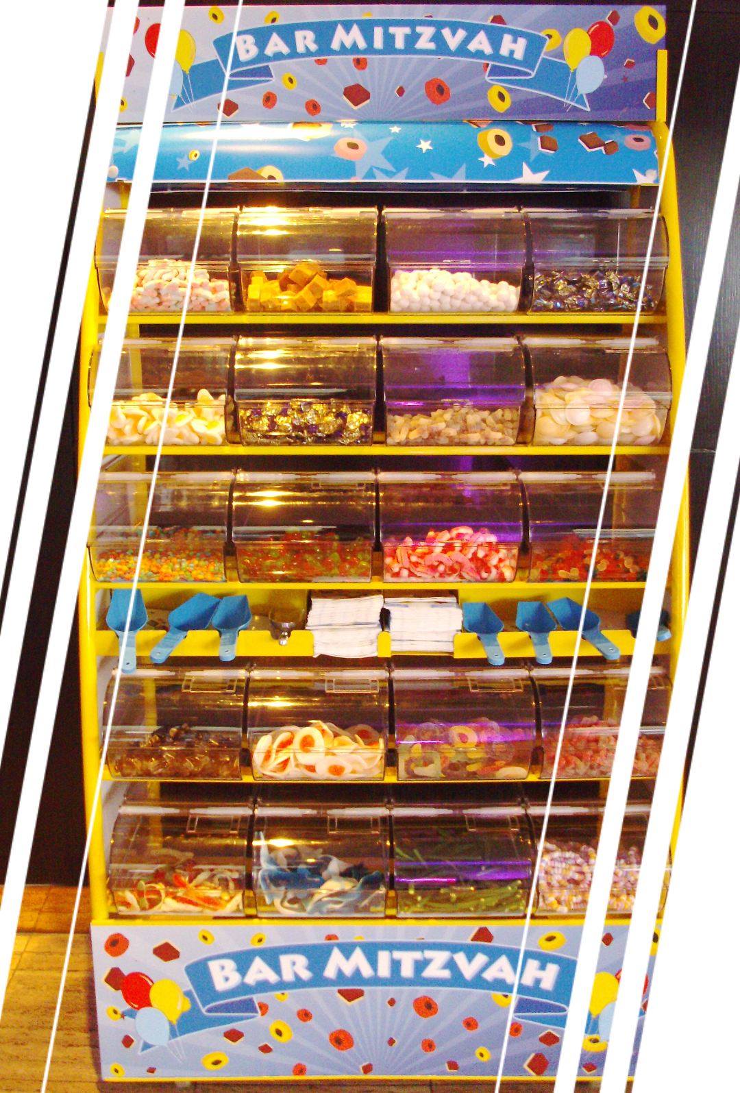 pick and mix sweet dispenser