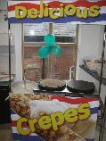 Party crepe catering unit