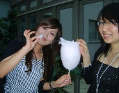candy floss party hire