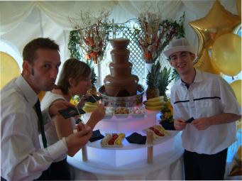 chocolate fountain rental central london