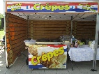festival style crepe catering