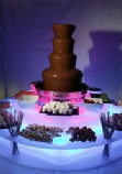 chocolate fountain for birthday party