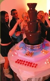 chocolate fountain rental for office party